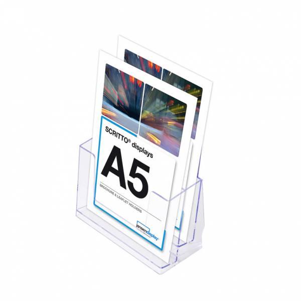 2 sorú A5 Asztali Szórólaptartó