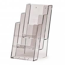 3 szintes 1/3 A4 (DL) Asztali/Fali Prospektustartó