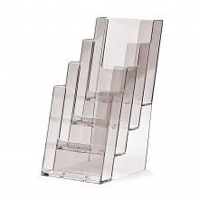 4 szintes 1/3 A4 (DL) Asztali Prospektustartó