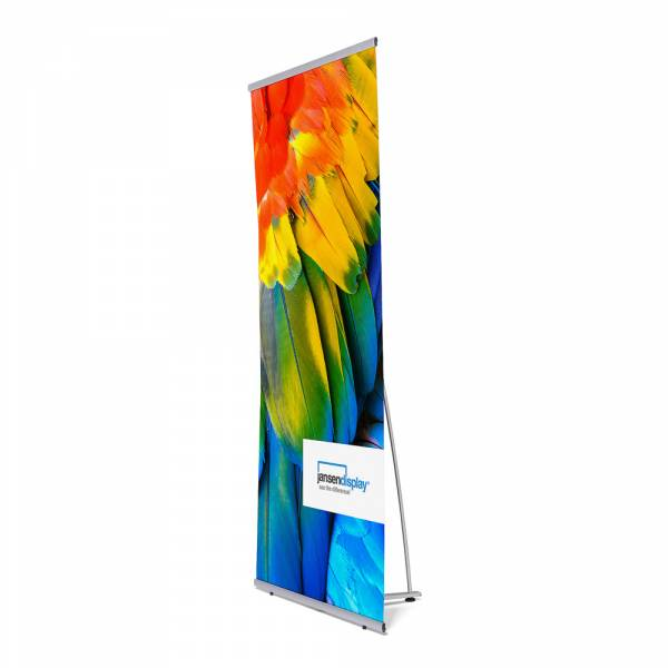 Banner display 90x200 cm