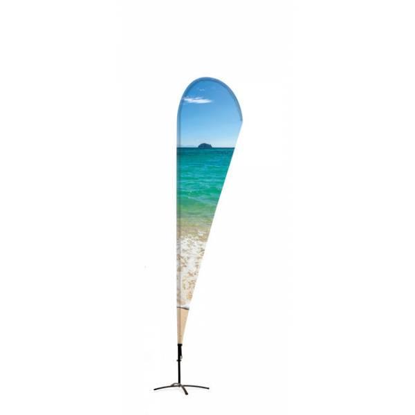 Beach Flag Alu Drop