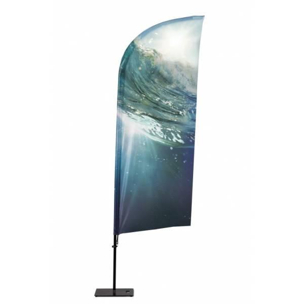 Beach Flag Alu Wind