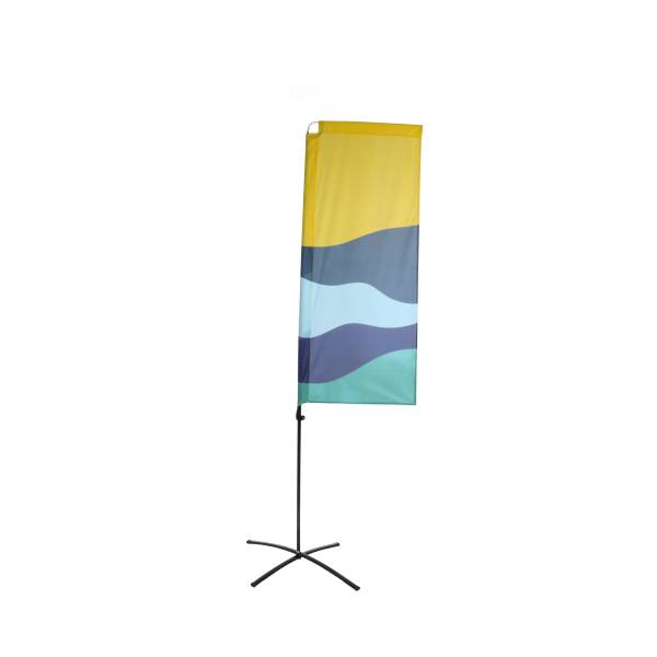 Budget Beach Square Flags