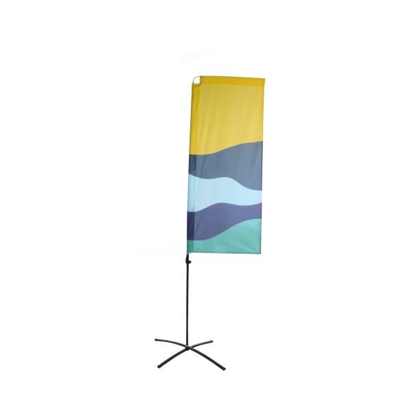 Budget Beach Square Flags Print