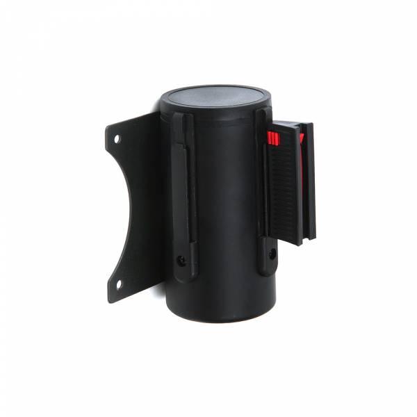 Flexi falra szerelhető kordon fekete színben, 2700 mm flexi fekete szallaggal