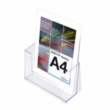 A4 Álló Szórólaptartó - Asztali állvány