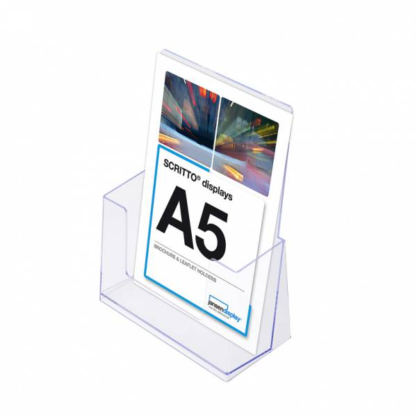 A5 Szórólaptartó - Asztali