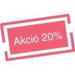 Kedvezmény 20% (0)