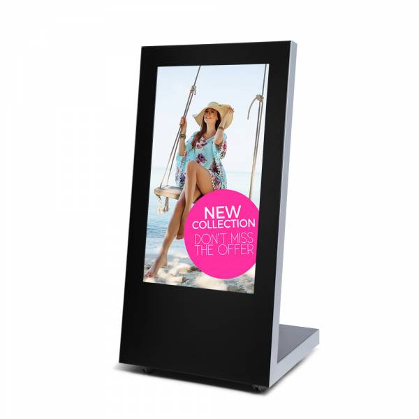 Digital Signage megállító tábla Samsung kijelzővel