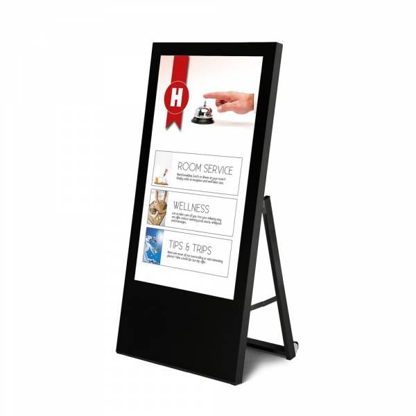 Digital Signage megállító tábla Samsung kijelzővel, Economy