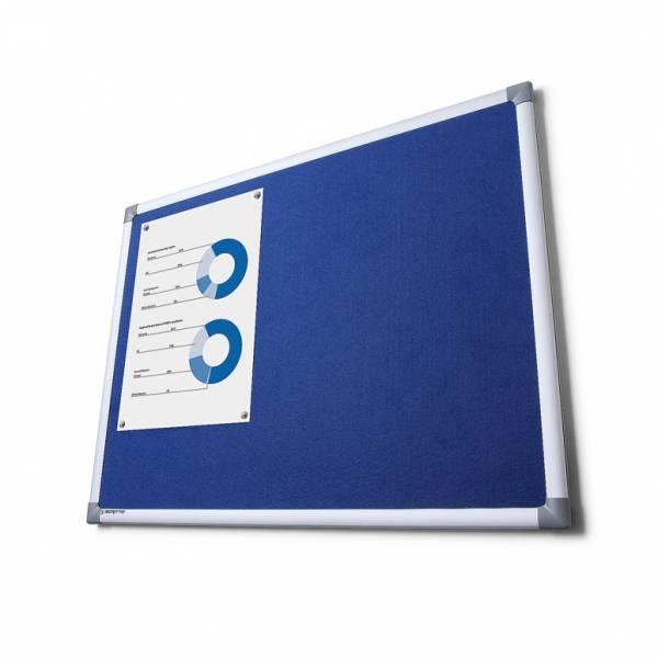 SCRITTO® Szövet tábla Kék 100x150