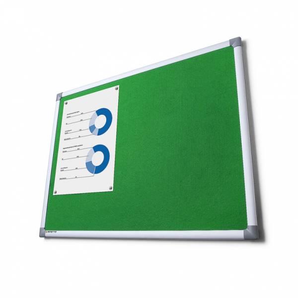 SCRITTO® Szövet tábla Zöld 90x120