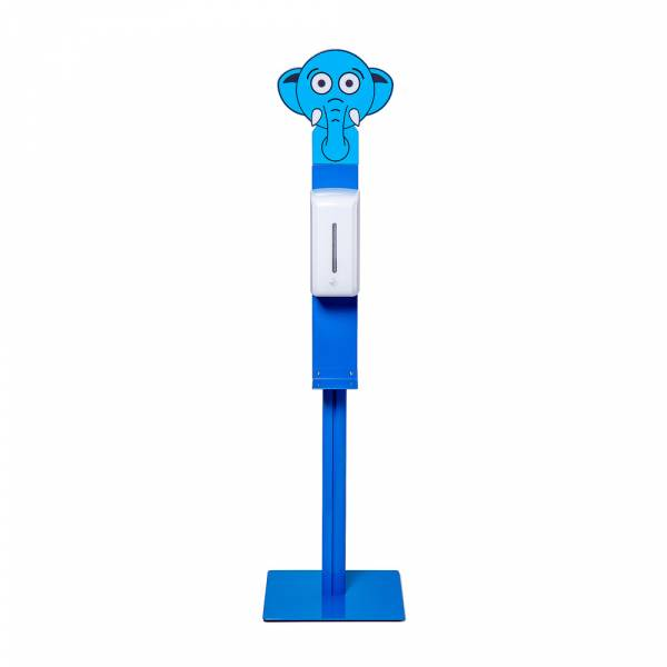 Sanitizer for children with automatic dispenser, blue