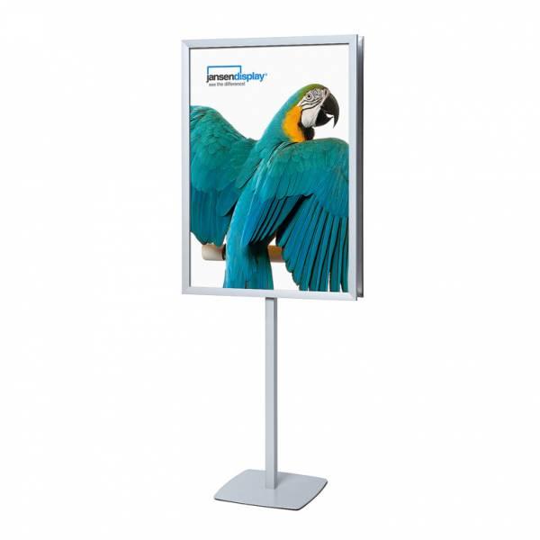 Reklámállvány 70x100 31mm szögletes sarkok kétoldalas