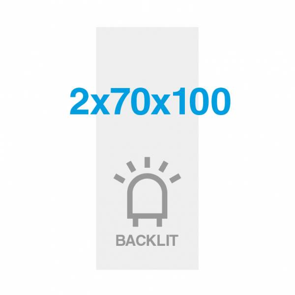 Premium backlit fólia 200g/m2, szatén felület, 700x2000mm