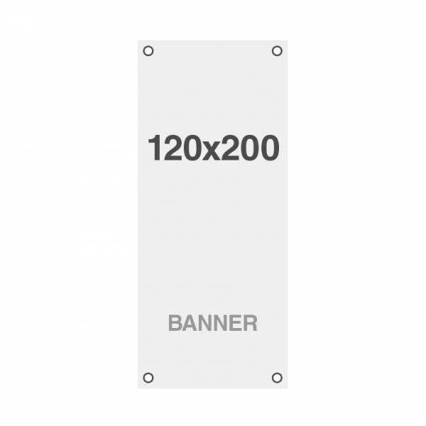 Economy Banner Nyomat Symbio, lyukakkal a sarkoknál, 510 g/m2, 1200x2000 mm