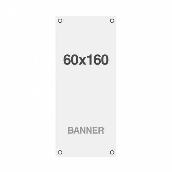 Economy Banner Nyomat Symbio, lyukakkal a sarkoknál, 510 g/m2, 600x1600 mm