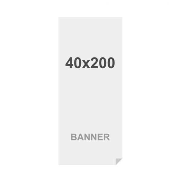 Symbio Banner 510g/m2 Matt Surface 40 x 200 cm