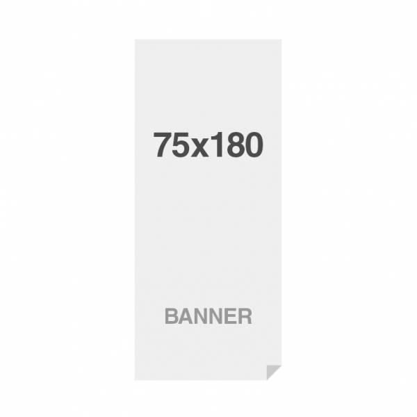 Premium banner nyomtatás No Curl 220g/m2, matt felület, 750x1800mm