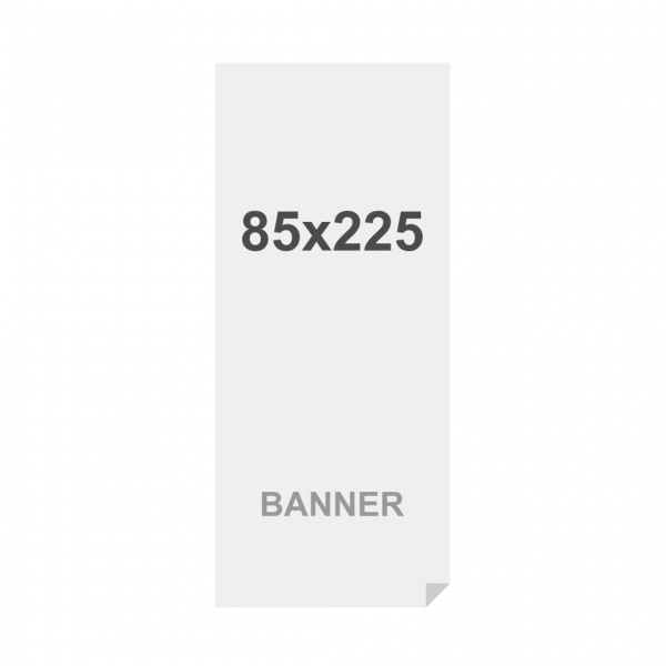 Premium banner nyomtatás No Curl 220g/m2, matt felület, 850 x 2250 mm