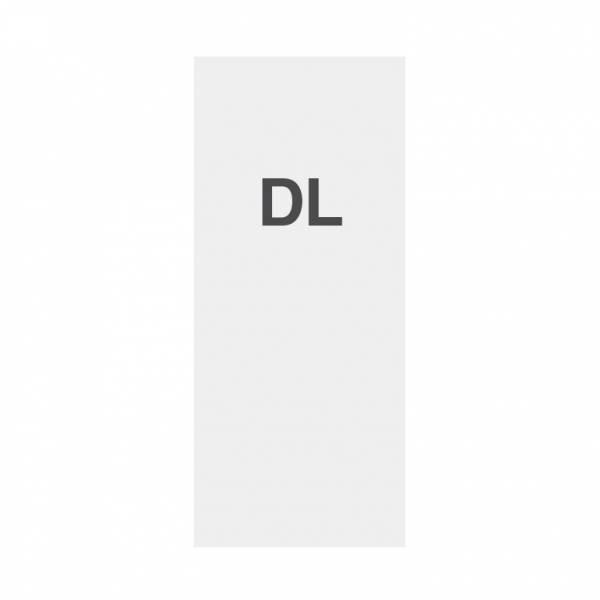 Premium minőségi papír 135g/m2, szatén felület, DL (99x210mm)
