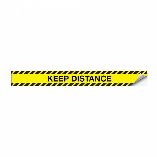 Safety Sticker Stripe 90 x 10 cm