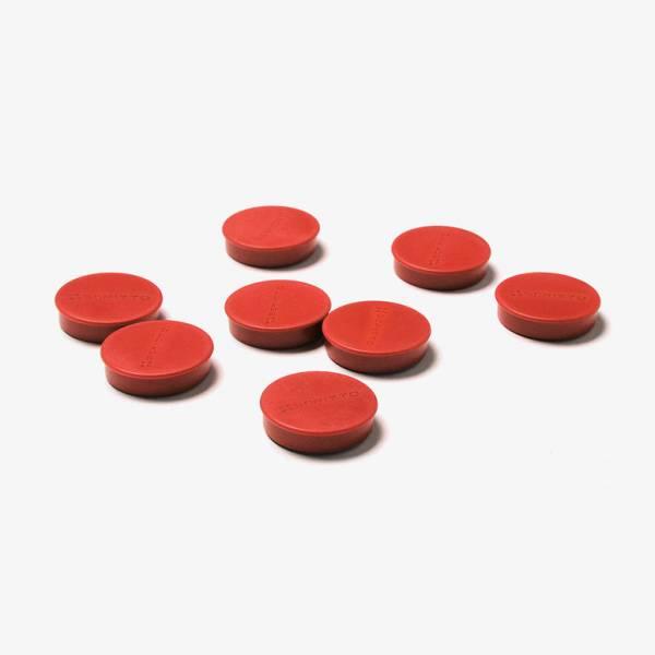 Mágnes szett, piros, 35mm