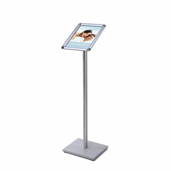 Menu Board Design Standard 25 mm Round Corners A4 SECH Pole Wooden Base