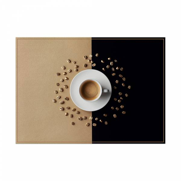 Placemat Coffee Cup