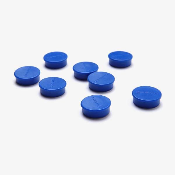 Mágnes szett, kék, 20mm