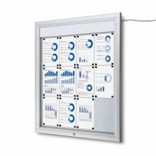 LED Vitrin 12xA4