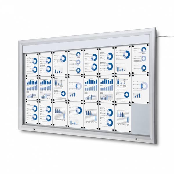 LED Vitrin 24xA4