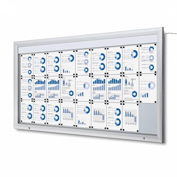 LED Vitrin 27xA4