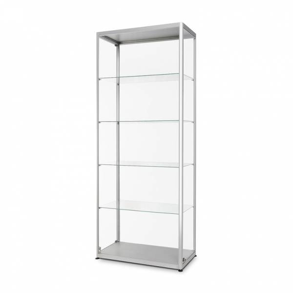 Üveg Vitrinszekrény 800x400x2000mm