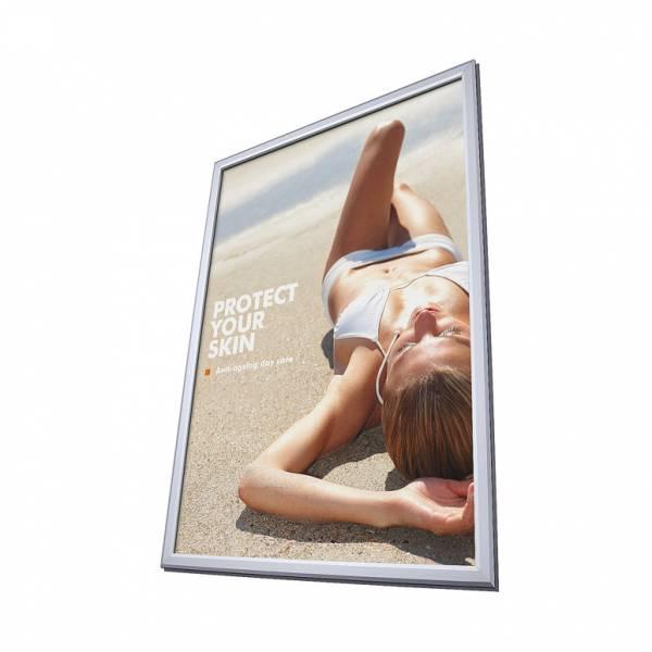 Kirakati plakátkeret A1, szögletes sarok, 32 mm